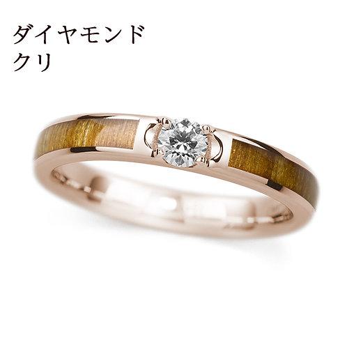 K18PG クリ / ダイヤモンド