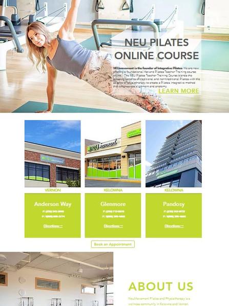 neumovment website www.neumovement.com.j
