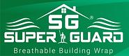 KPNE SuperGuard Building wrap green paper breathable air barrier commercial grade super guard