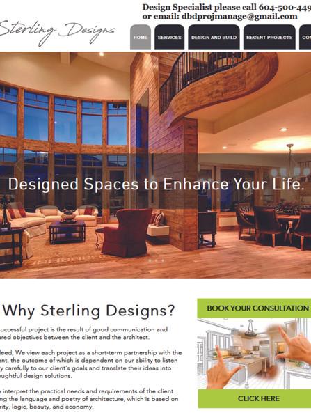Sterling Designs Website www.sterlingdes