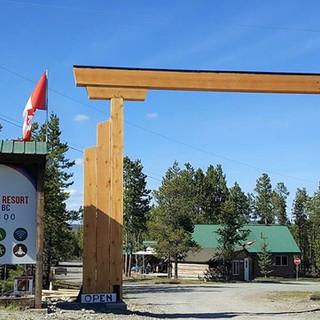 Rick Hlady - ranch gate and signage (2).
