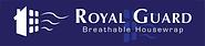 KPNE RoyalGuard Building wrap black paper breathable air barrier commercial grade royal guard