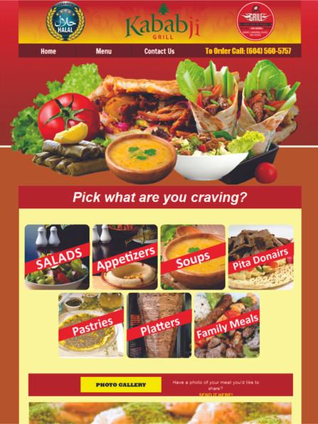 Kabab-ji Grill Website www.kabab-ji.ca.j