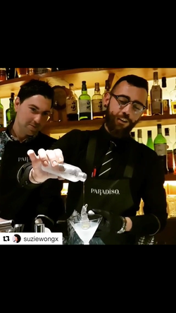Supercool Martini by Paradiso