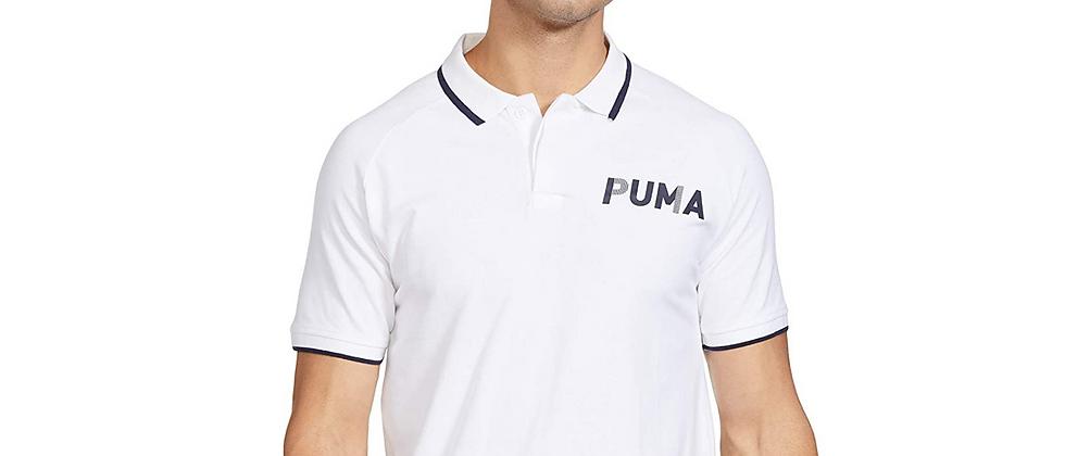 Puma Men's Regular Fit WHITE Polo