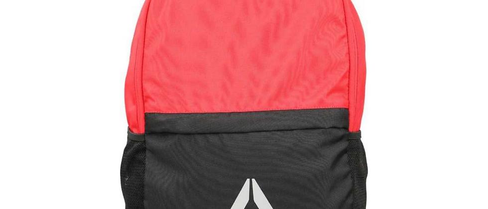 Unisex Red & Black Style Fon X Colourblocked Laptop Backpack