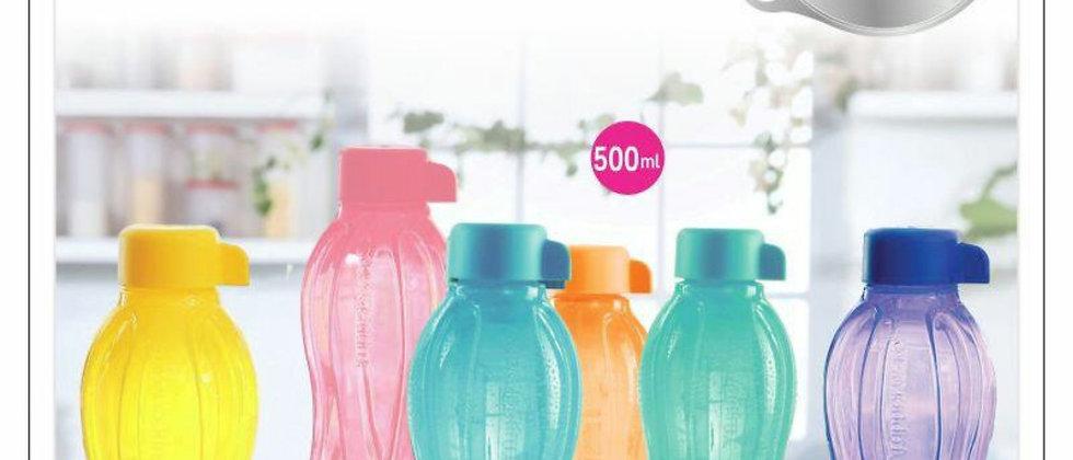 Tupperware AQUA SAFE  water bottle 500ml SET OF 6