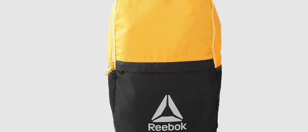 Unisex Yellow & Black Style Fon X Colourblocked Laptop Backpack
