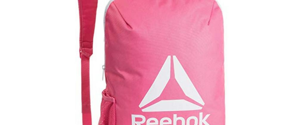 Unisex Coral Pink Brand Logo Backpack
