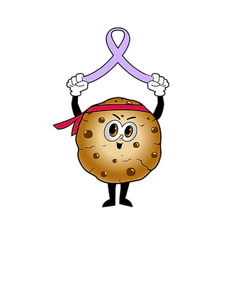 one tough cookie lavender ribbon.png