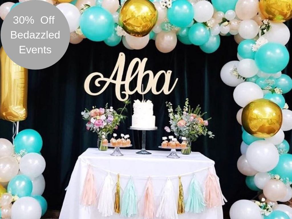 30% Off Bedazzled Events
