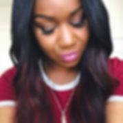 Makeup by me #rudegyalglam hair styled a