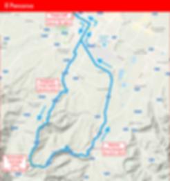 Challenger Biking Cup - Mappa Percorso -