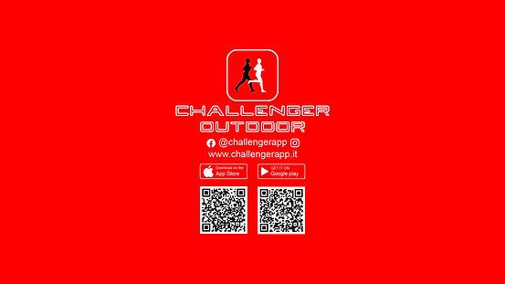 Challenger Outdoor - Logo con QR Codes.j