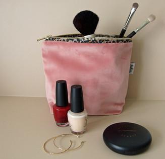 Kosmetiktäschchen Samt
