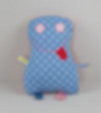 Puppenkissen Friendly Monsty Polyesterfüllung