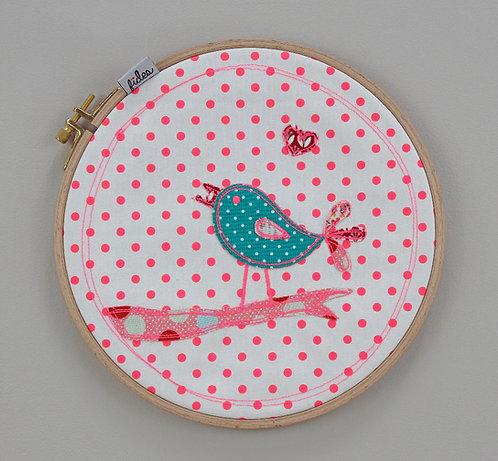 Dekorahmen Vogel