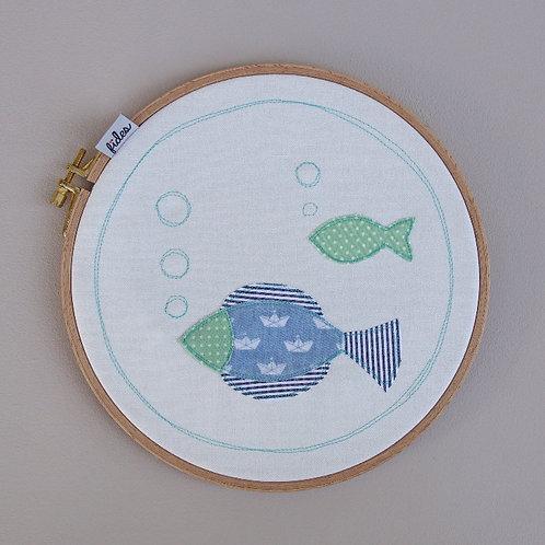 Dekorahmen Fische