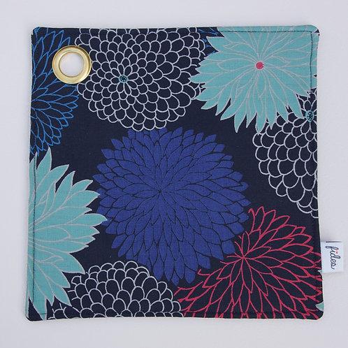 Topflappen Japanblumen