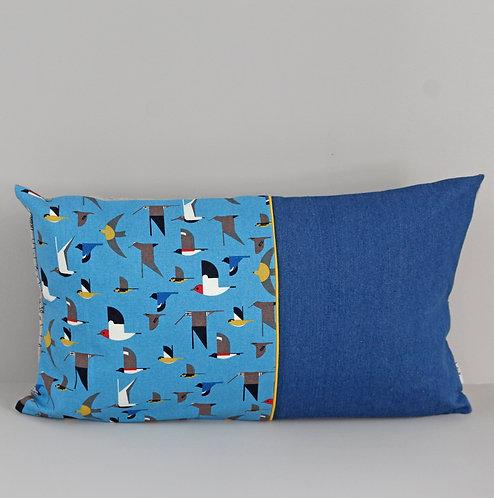 Kissen Vögel