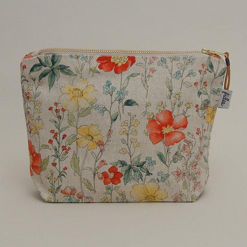 MakeUp Tasche Blumen