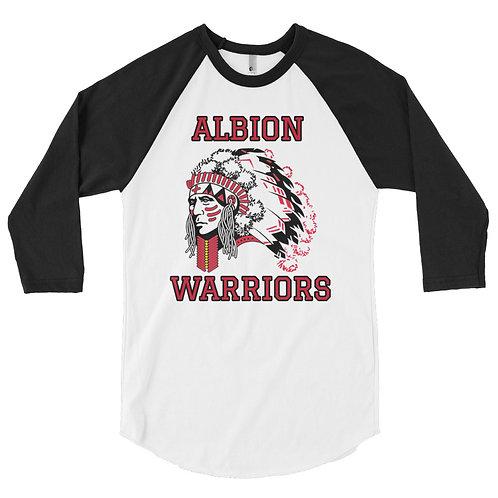 ALBION -3/4 sleeve raglan shirt