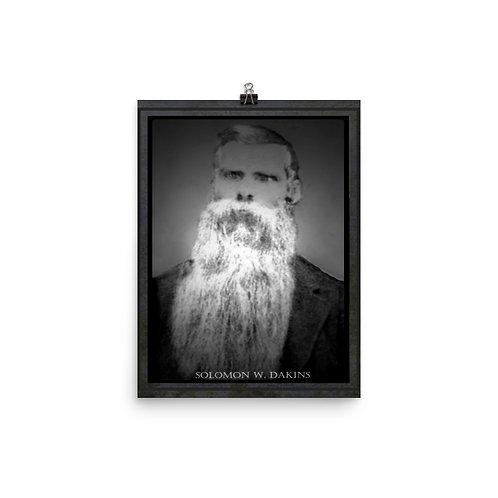 Solomon Dakins - Photo paper poster