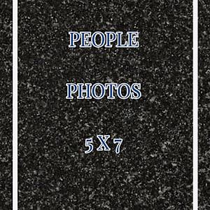 People 5x7's