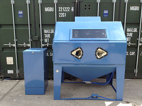 Guyson Super 7 Shot Blasting Cabinet. Available to pick up from Sheffield.