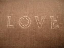 Love cushion 1
