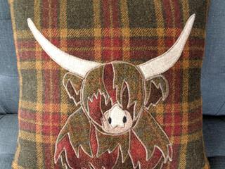 Highland Cow cushions