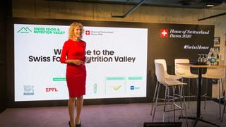 Swiss Pavilion Host, Davos