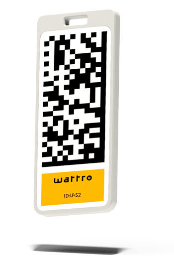 Der Wattro RFID-Tag lässt sich überall anbringen und benötigt keine Batterie. Daher ist er sehr günstig und der Batteriewechsel entfällt.