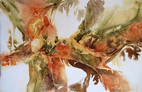 Nan Daly - Watercolor - Rainforest - 1st