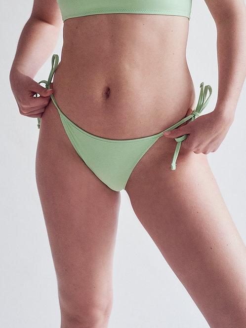 Mint Tie Side Bottom