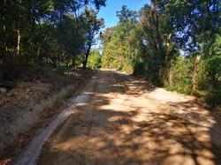 Fényespusztai kerülőút felújítása, utána