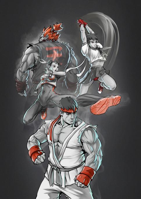 Street Fighter - B&W.jpg