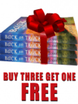 Back On Track By Joanne Antoun Buy 1 or our special (4 Pack) and gift friends