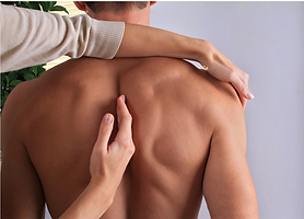 Back Exam by Chiropractor on Danforth Avenue