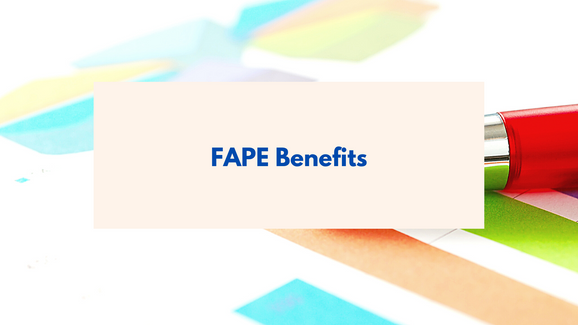 FAPE Benefits