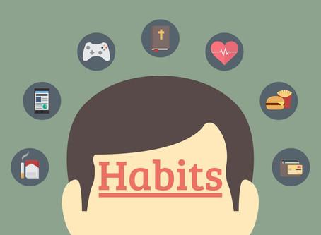 OFTEN UNRECOGNIZABLE HABITS