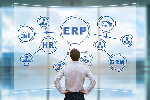 Integration of various softwares such as HRMS and CRM with ERP system