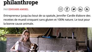BILAN-Jennifer Cardle: Granola philanthrope (français)