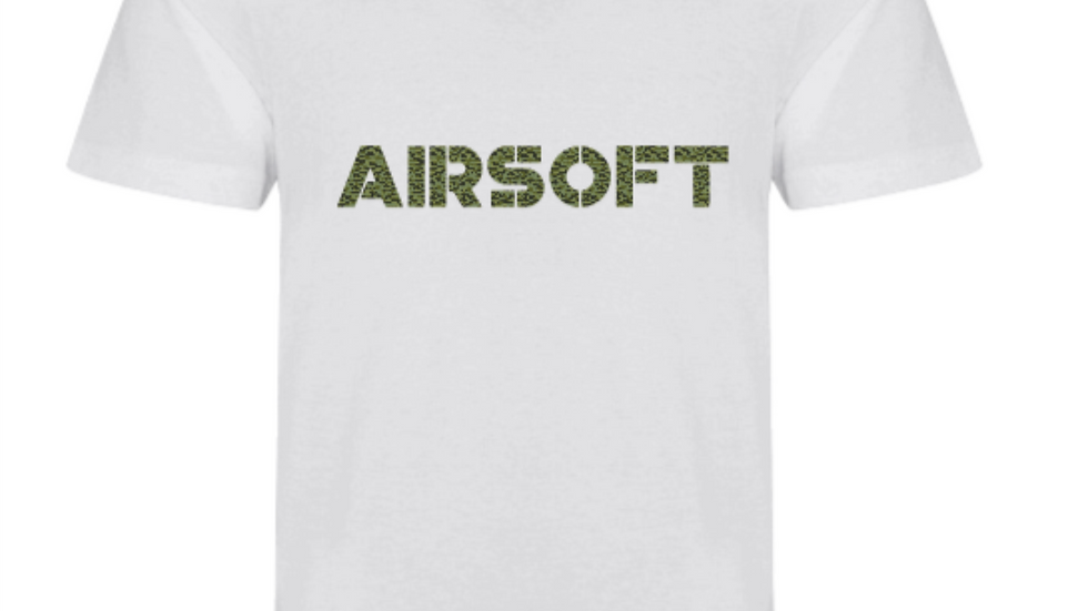 T-shirt in Camouflage Print