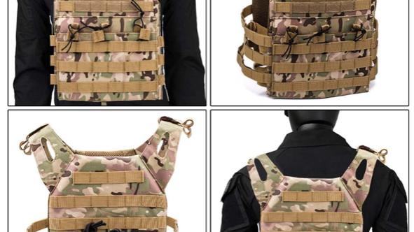 Multi Cam Tactical Vest
