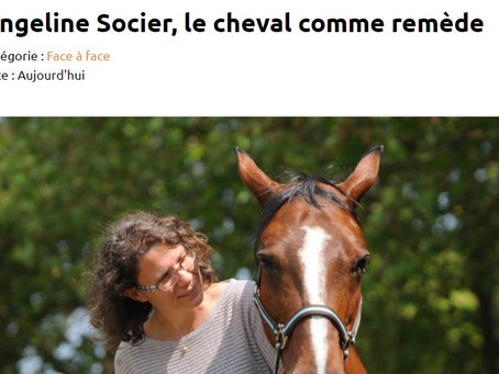 Face à Face dans le 7hebdo : Angeline SOCIER, Le cheval comme remède