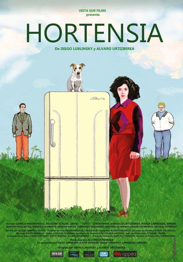 Hortensia Poster