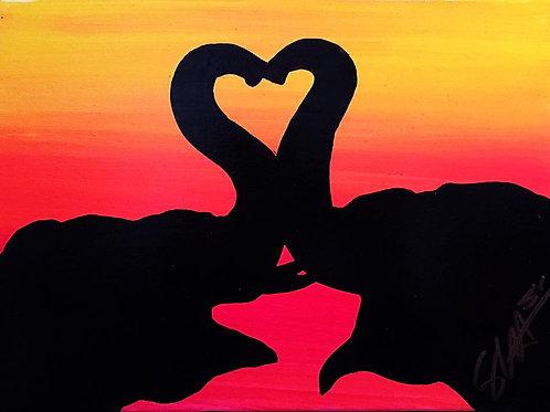 """""""Elephant Kiss"""""""