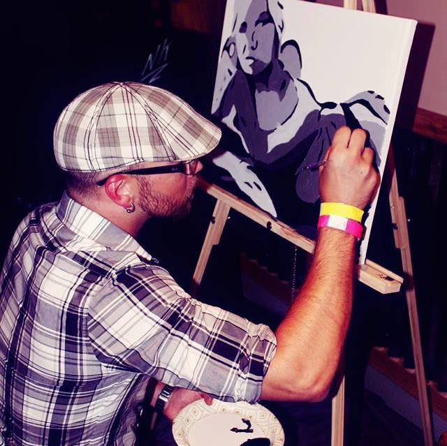 LIVE Painting at Your Venue
