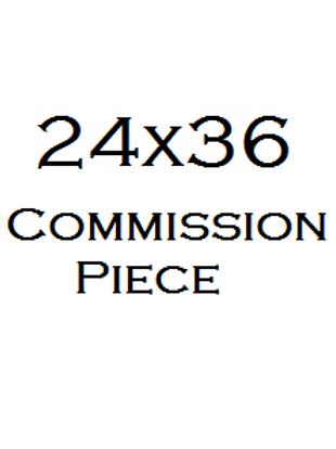 "24x36"" in Commission Portrait"